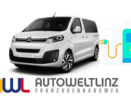Citroën e-Spacetourer Batterie 75kWH M Shine bei Autowelt Linz in
